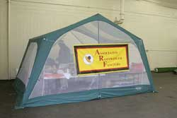 Cow Palace Food Tent